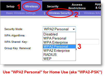 ... WPA you have available, use AES instead of TKIP, preferably with WPA2.